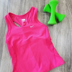 NIKE pink tank top size small